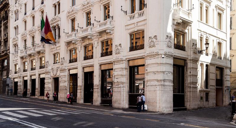 Inaugurazione della nuova sede della rinascente a via del for Rinascente via del tritone ristorante